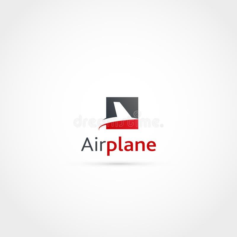 Voo Logo Design ilustração do vetor