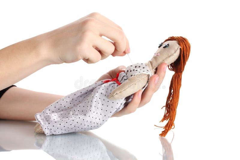 voodoo девушки куклы стоковые фото