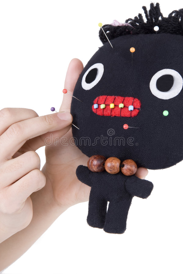 Voodoo. Comes from the West African region royalty free stock photography