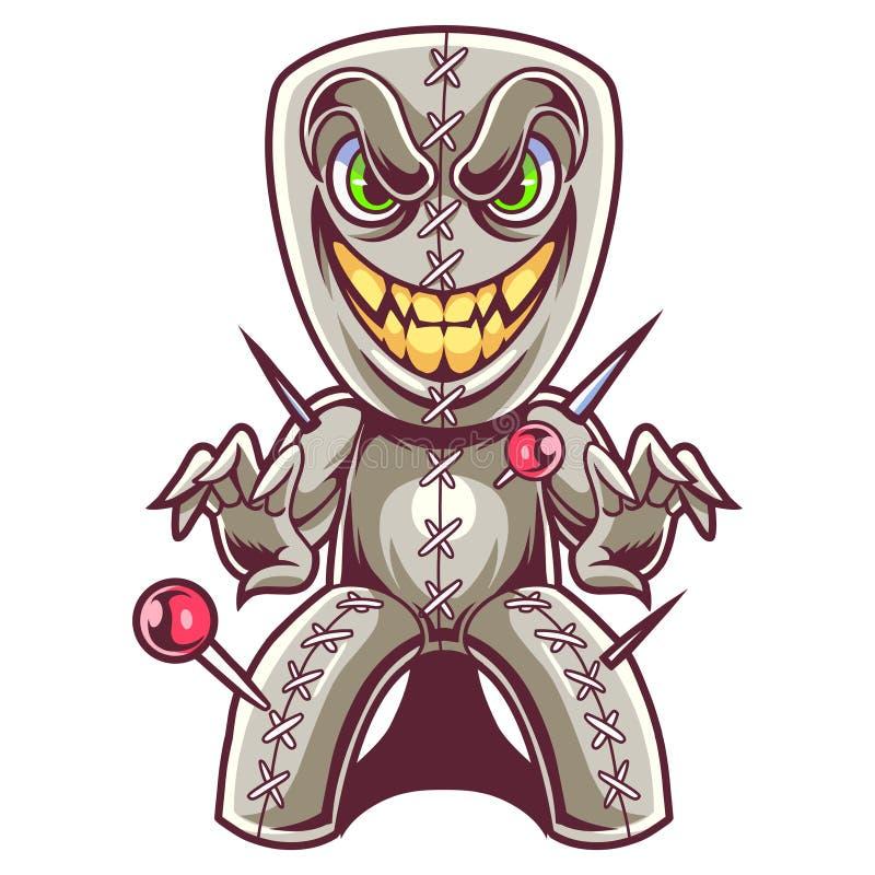 Free Voodoo Doll Mascot Esport  Logo Royalty Free Stock Photos - 182400138