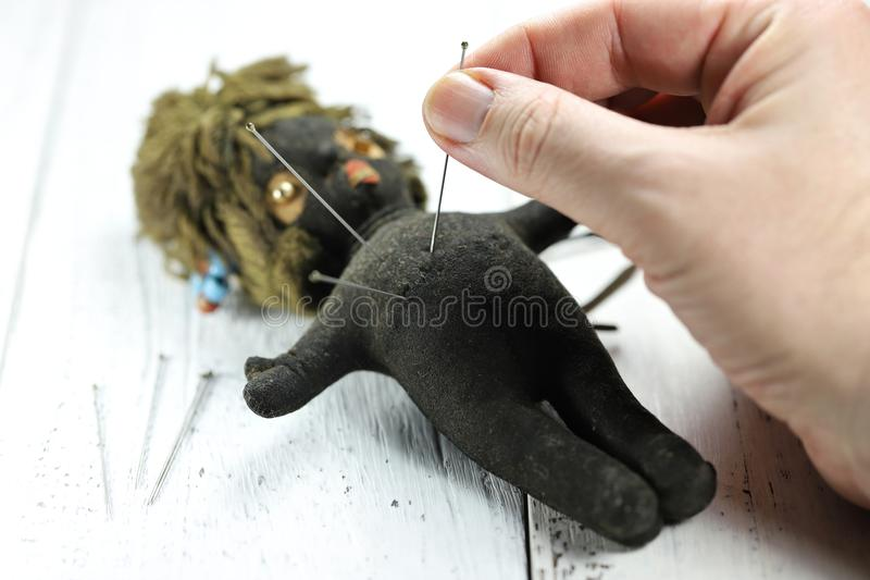 Voodoo doll royalty free stock image