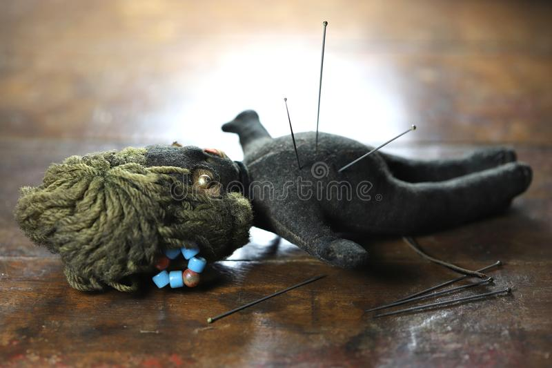 Voodoo doll royalty free stock photo