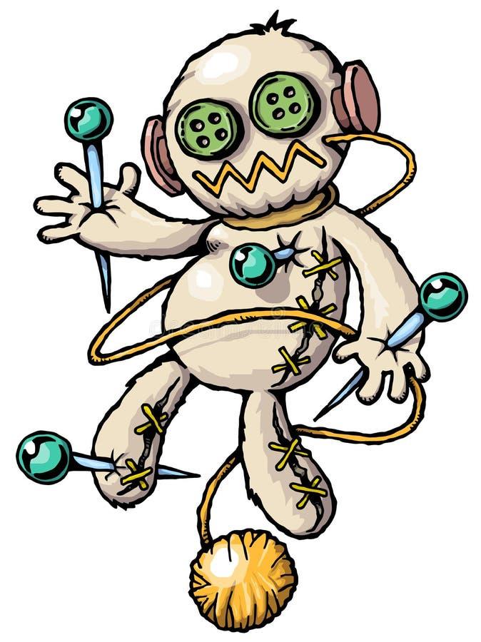 Voodoo-Schätzchen lizenzfreie abbildung