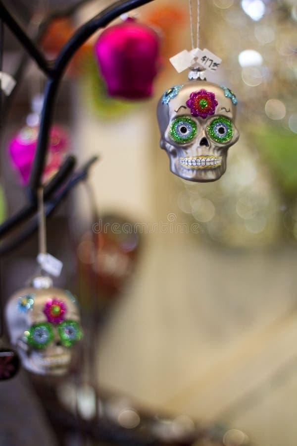 Voodoo Skull stock photography