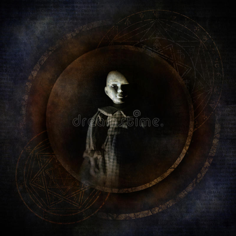 Voodoobarn arkivfoto
