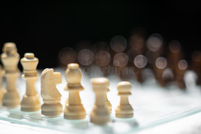 Voor achtergrond of Web Een te doden beweging Verwijs naar bedrijfsstrategie en concurrerend concept stock afbeelding