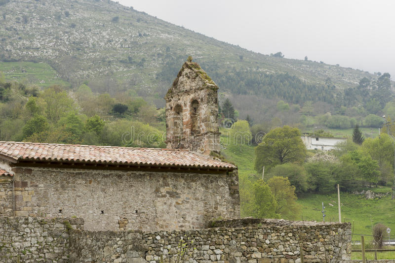 Voor de Kluis van San Juan de Ciliergo royalty-vrije stock fotografie