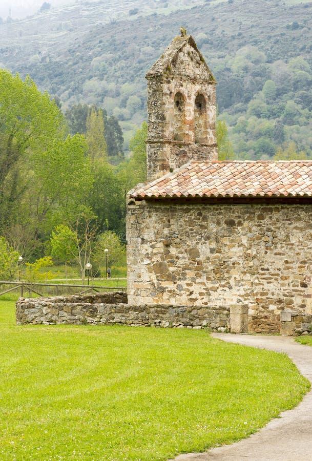 Voor de Kluis van San Juan de Ciliergo royalty-vrije stock afbeelding