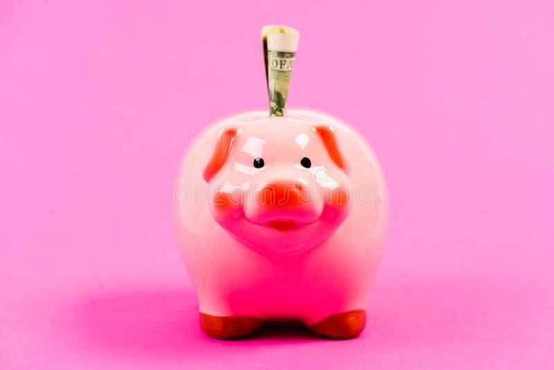 Voor een regenachtige dag Rijk het worden inkomen Het geld van de besparing Financi?n en handel Familiebegroting Opstarten van be stock afbeelding