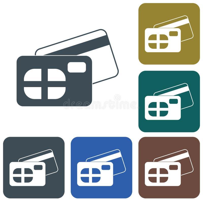 Voor en achterkant vector illustratie