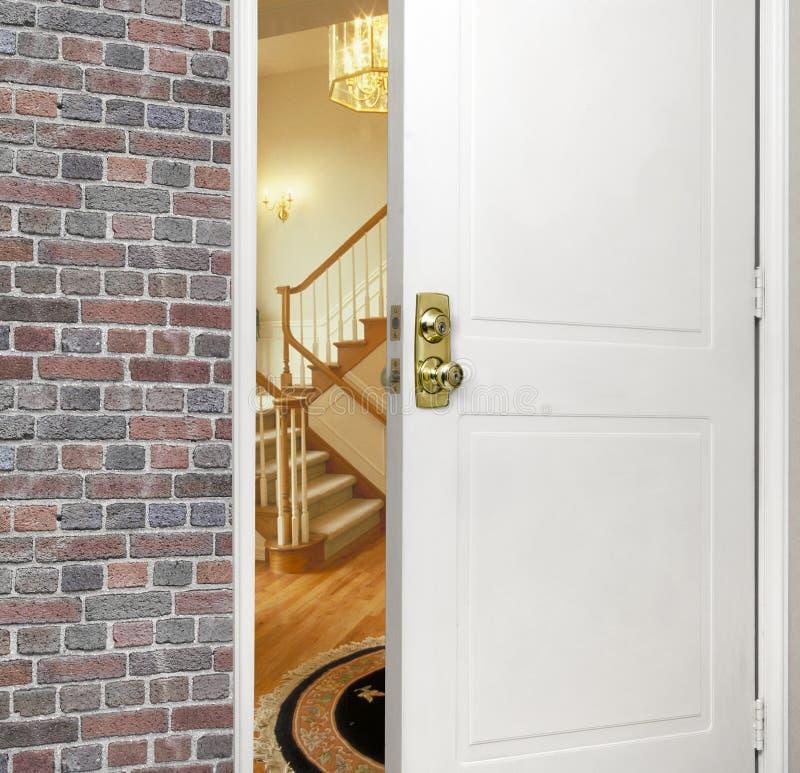 Voor entryway royalty-vrije stock afbeelding