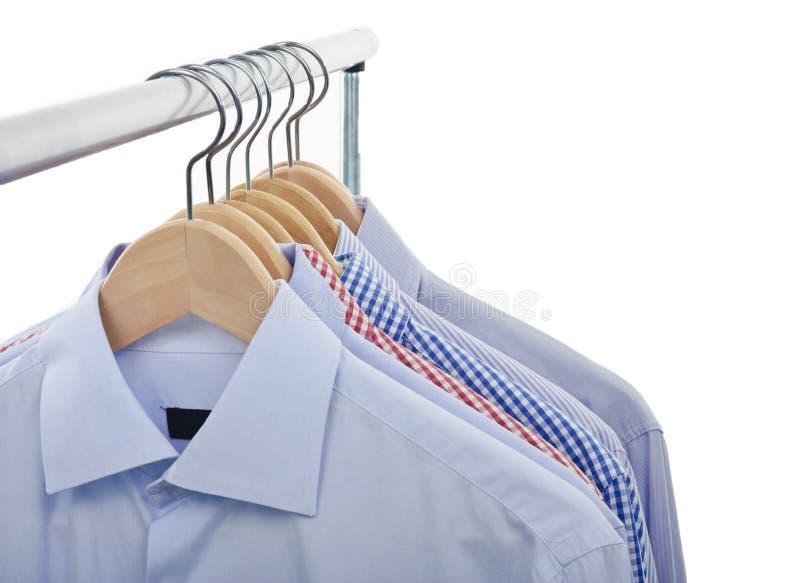 Voor geïsoleerded overhemden stock fotografie