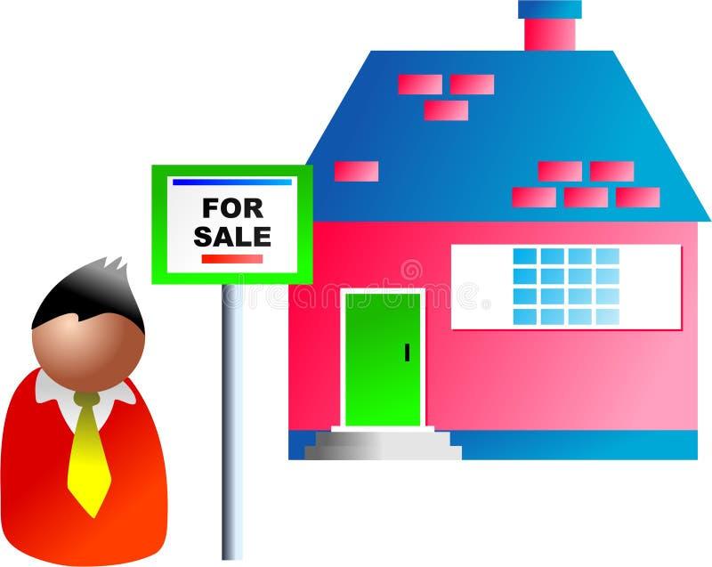 Voor verkoop vector illustratie