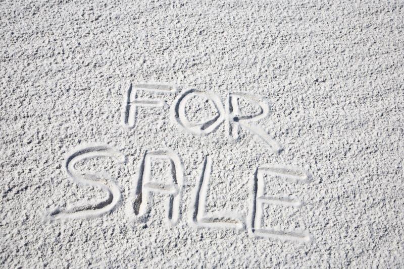 Voor verkoop royalty-vrije stock foto