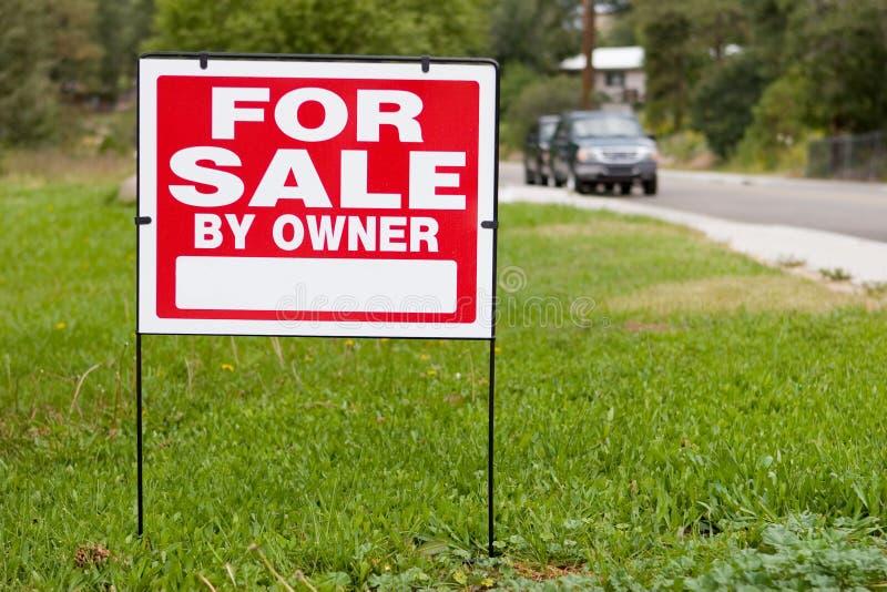 Voor verkoop door eigenaar royalty-vrije stock foto's