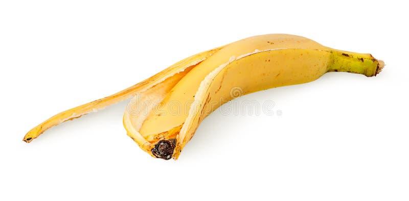 Vooraan bananeschil stock fotografie