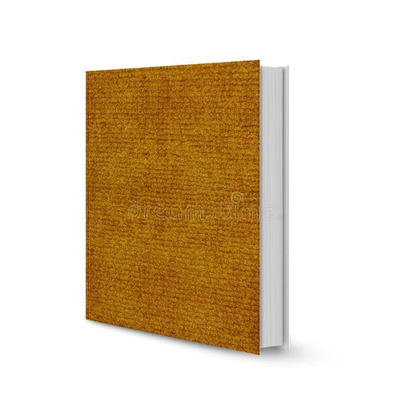 Vooraanzicht van boek stock illustratie