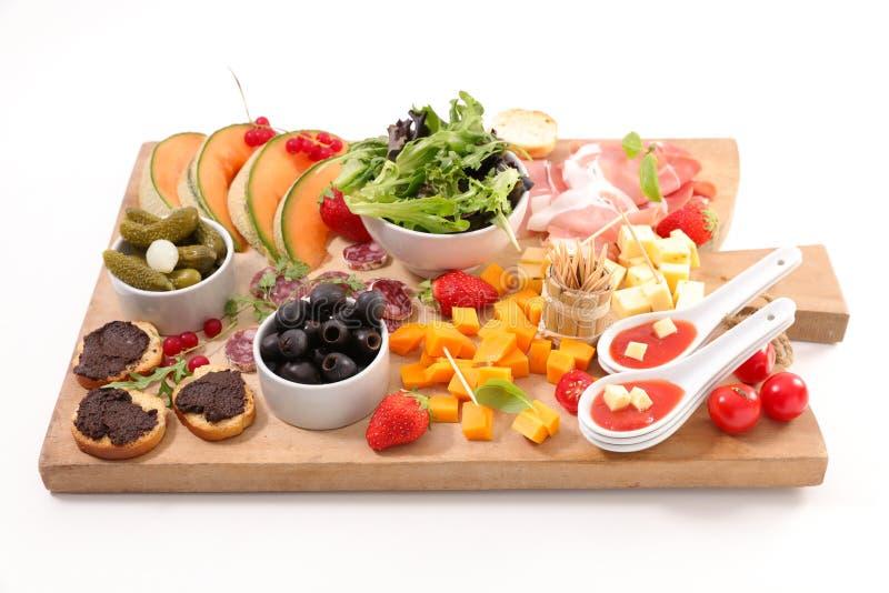 voorgerecht, snack en vingervoedsel royalty-vrije stock foto's