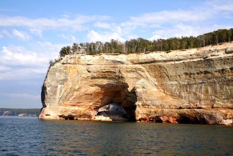Voorgestelde rotsen stock afbeelding