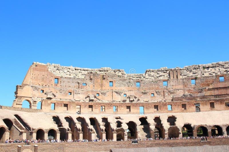 Voorgevel van Colosseum-Arena, Rome royalty-vrije stock foto