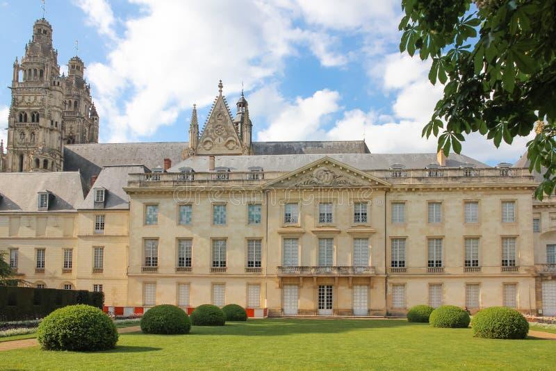 Voorgevel van het Museum van Beeldende kunsten reizen frankrijk royalty-vrije stock foto's