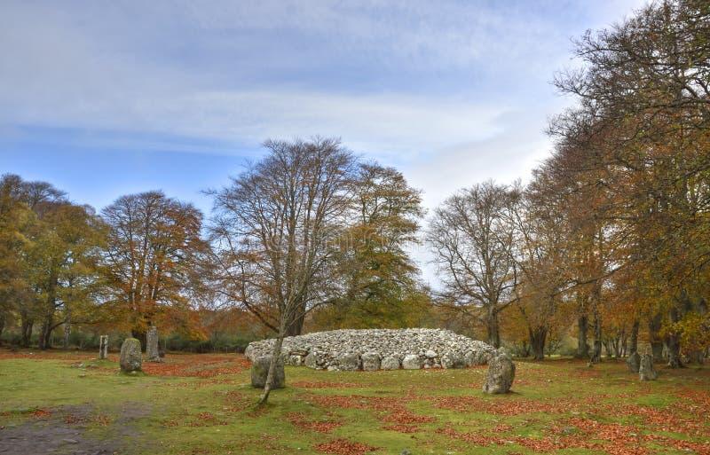 Voorhistorisch Landschap van de Schotse Hooglanden royalty-vrije stock fotografie