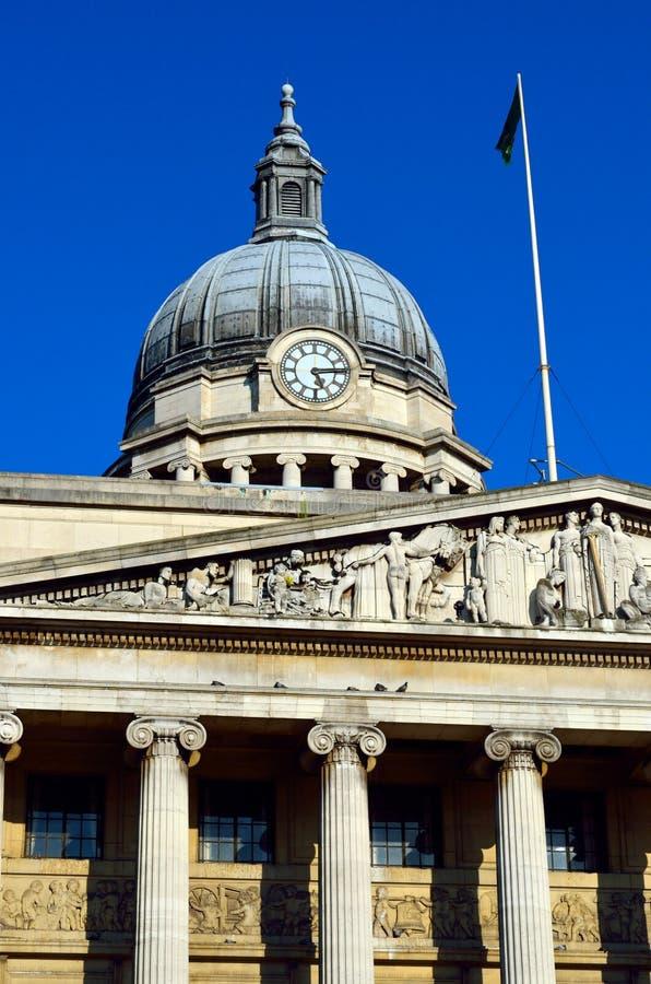 Voorraadbeeld van Oude architectuur in Nottingham, Engeland royalty-vrije stock foto