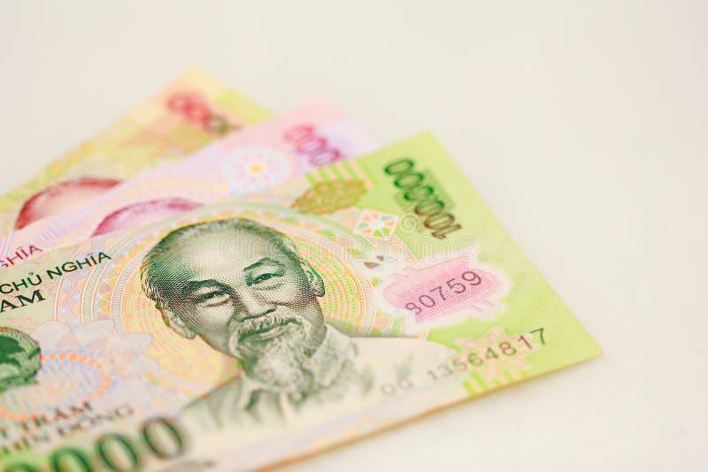 Voorraadfoto - de Vietnamese bankbiljetten van muntdong stock afbeeldingen