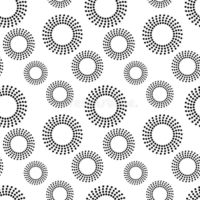 Voorraden tamplate naadloos patroon royalty-vrije illustratie