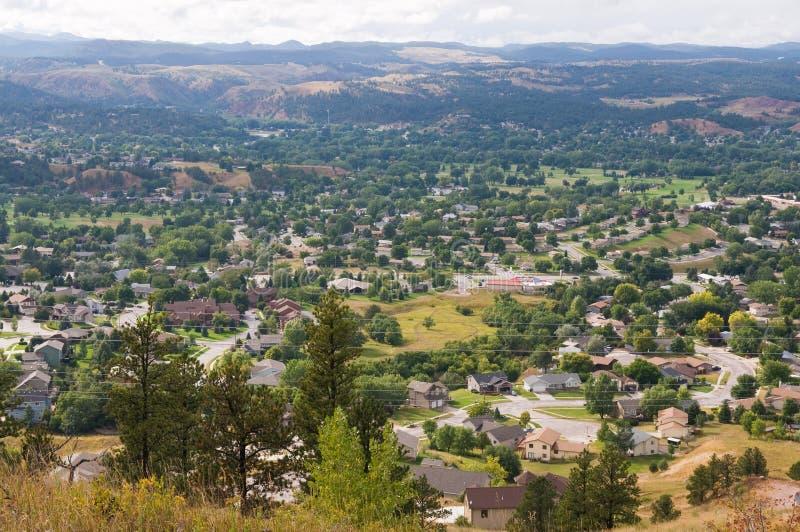 Voorsteden stock foto