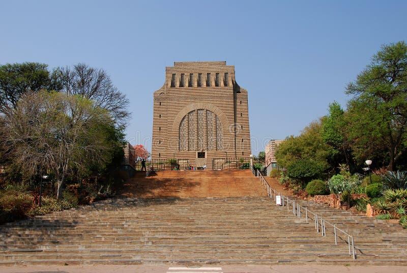 Voortrekker Monument stockfotos