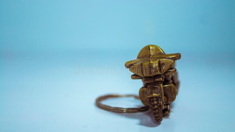 Voorwerp - een miniatuur van motor royalty-vrije stock foto