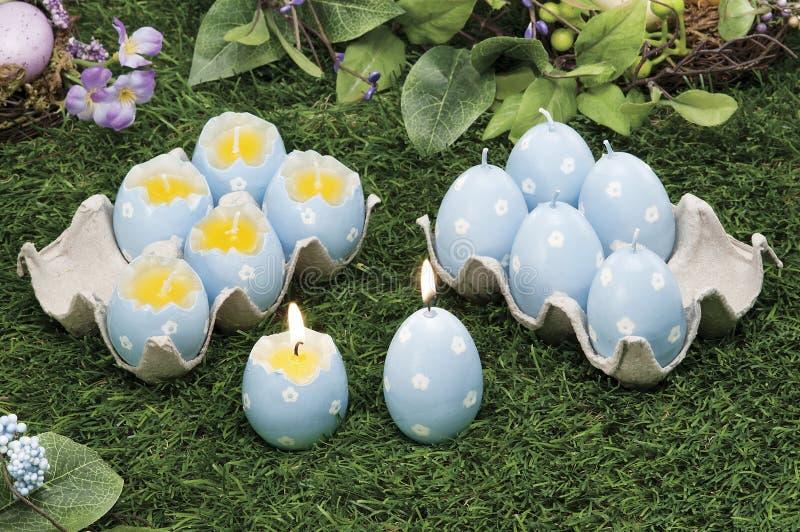 Voorwerpen voor Pasen, een stilleven stock foto's