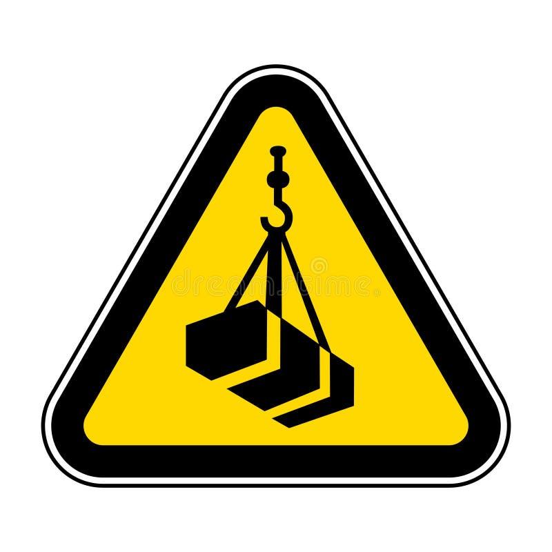 Voorzichtig zijn Luchtladingssymbool isoleren op Witte Achtergrond, Vectorillustratie EPS 10 vector illustratie