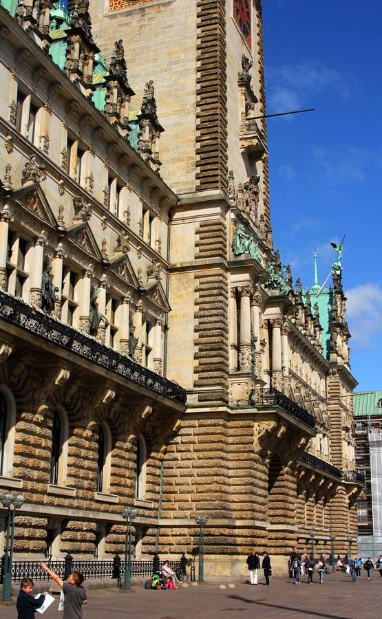 Voorzijde van een historisch gebouw royalty-vrije stock afbeelding