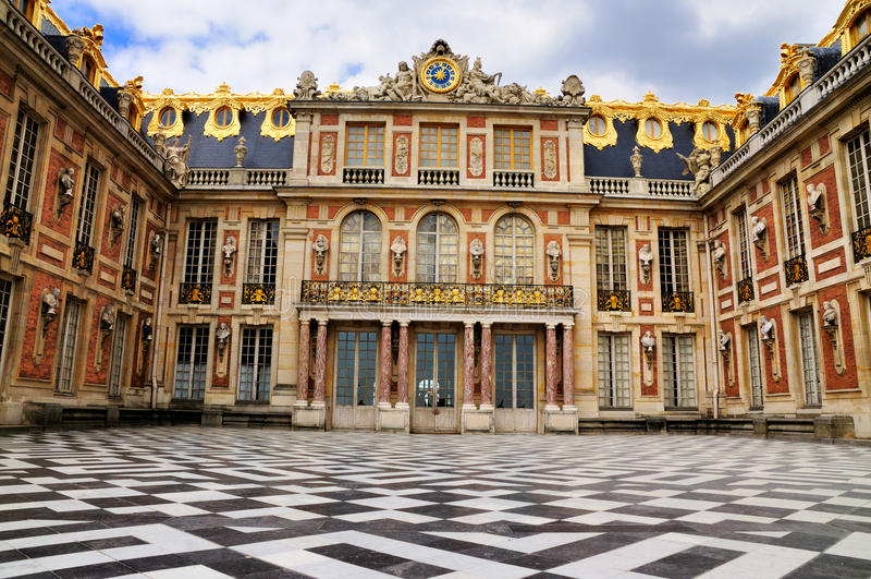 Voorzijde van Versailles
