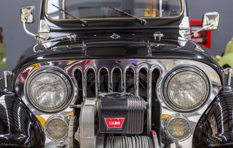 Voorzijde van Wyllis Jeep royalty-vrije stock fotografie