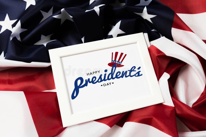 Voorzitters dag de V.S. - Beeld royalty-vrije stock afbeelding