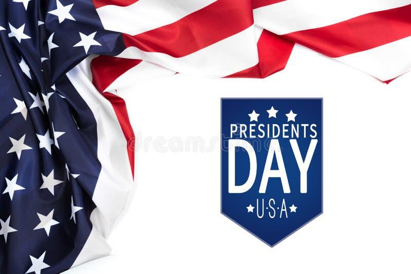 Voorzitters dag de V.S. - Beeld royalty-vrije stock foto's