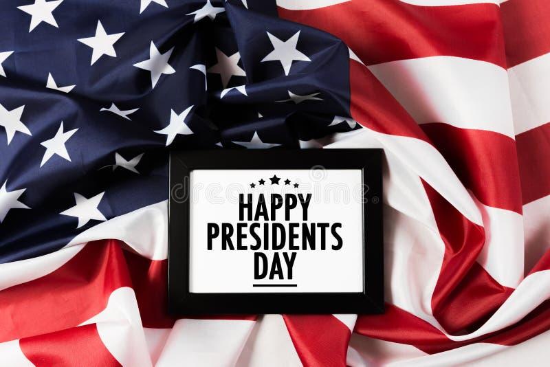 Voorzitters dag de V.S. - Beeld stock foto's