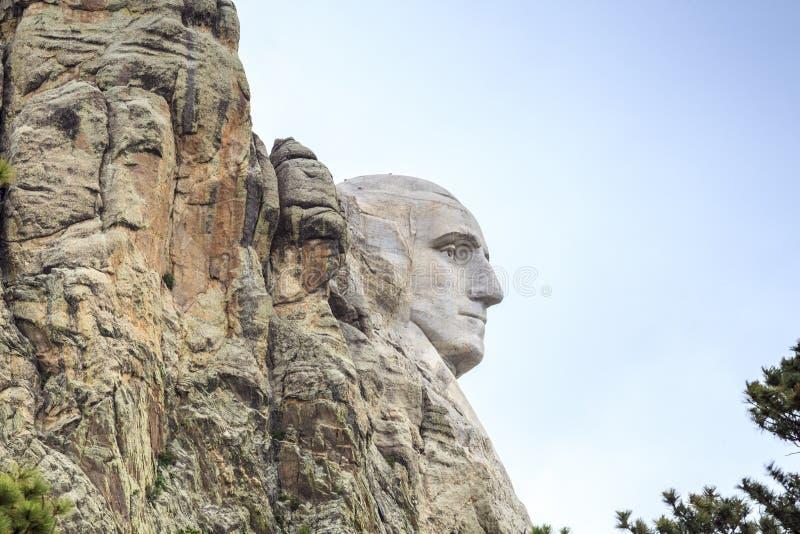 Voorzitters van het Nationale Monument van Onderstelrushmore stock foto