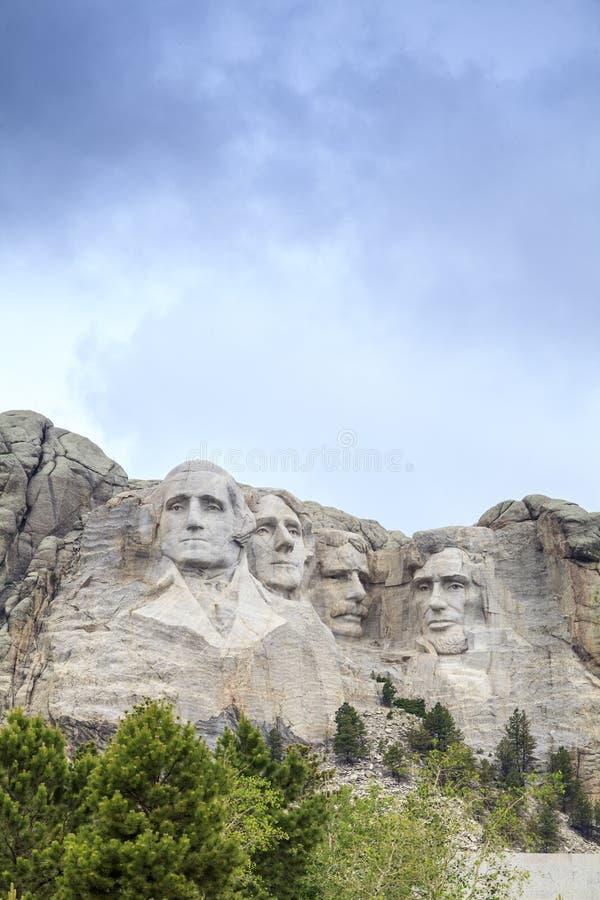 Voorzitters van het Nationale Monument van Onderstelrushmore royalty-vrije stock foto's