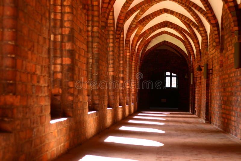 Vor Frue monaster, Karmelicki monaster w Elsinore Helsing obraz stock