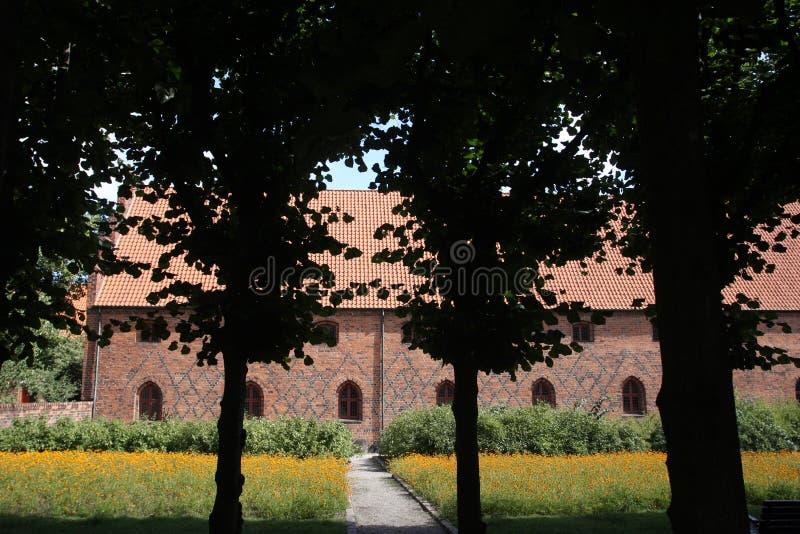 Vor Frue monaster, Karmelicki monaster w Elsinore Helsing zdjęcia stock