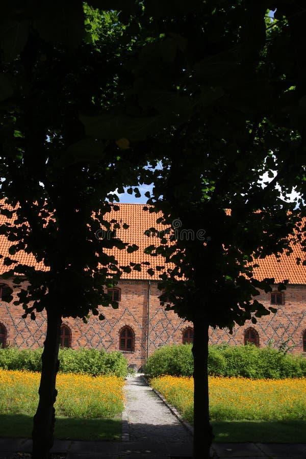 Vor Frue monaster, Karmelicki monaster w Elsinore Helsing fotografia royalty free