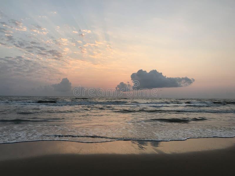 Vor Sonnenaufgang lizenzfreie stockfotos