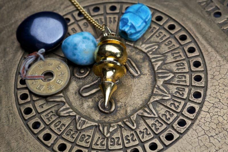 Voraussage der Zukunft durch Astrologie stockfotos