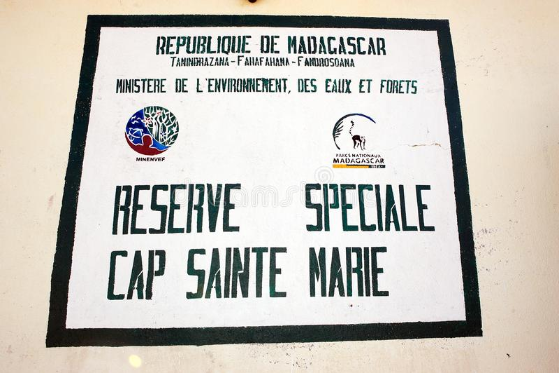 Vorbehalt-Schutzkappe Sainte Marie lizenzfreie stockbilder
