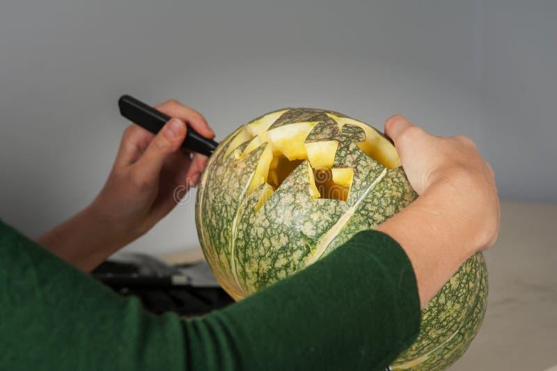 Vorbereiten für Halloween lizenzfreie stockbilder
