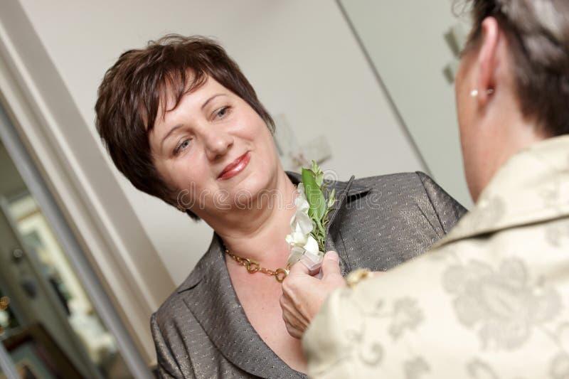 Vorbereitung für Hochzeit lizenzfreies stockfoto